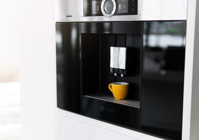 Iebūvējamie kafijas automāti