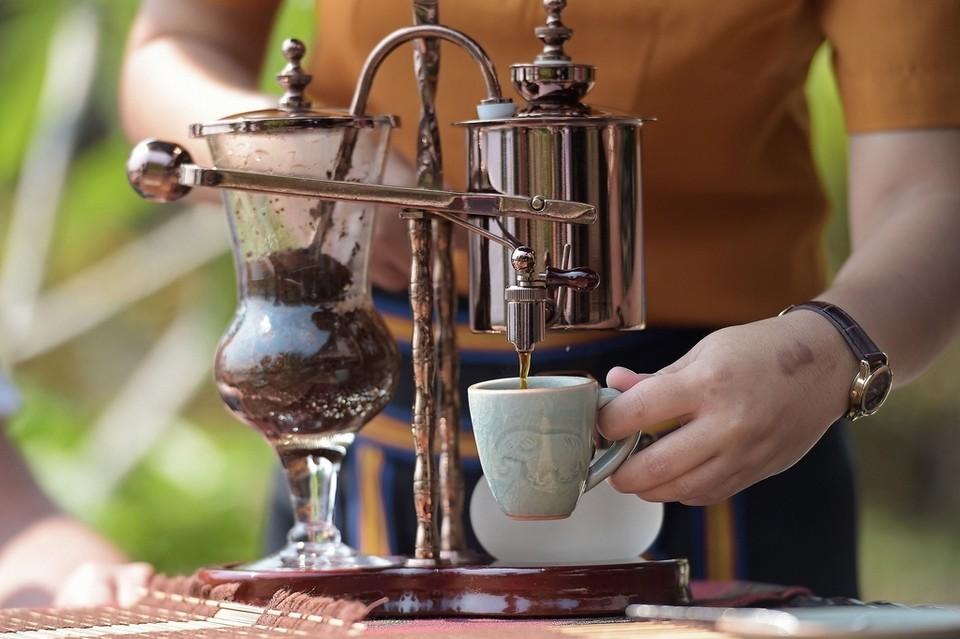 Black ivory coffee. Kafijas Draugs