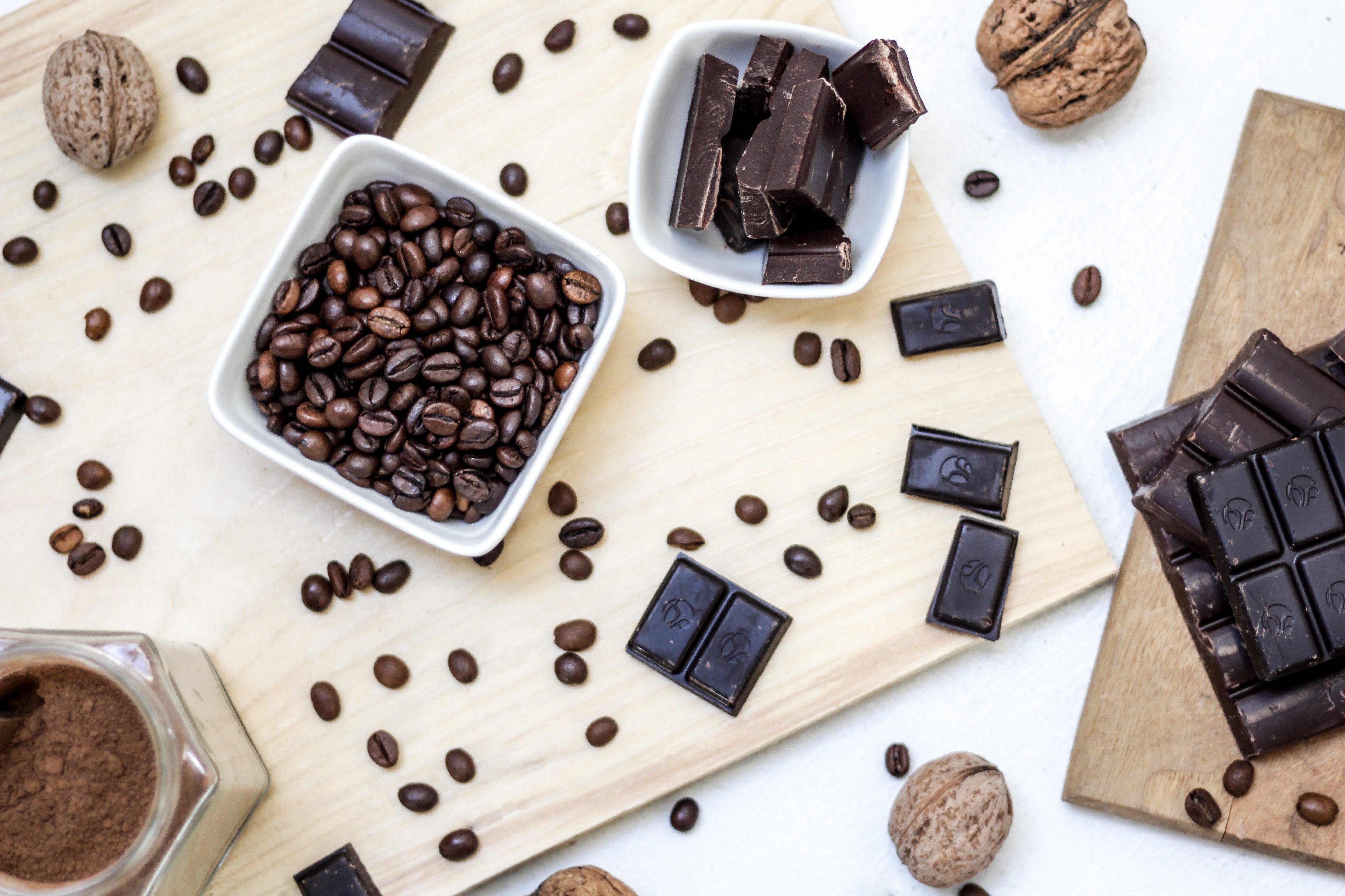 Kafija un šokolāde