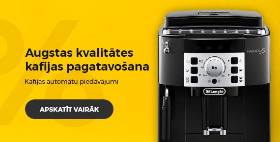 Kafijas automātu piedāvājumi