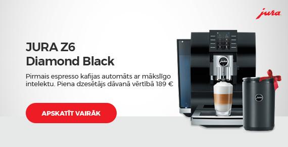 """Kafijas automāts Jura """"Z6 Diamond Black"""""""