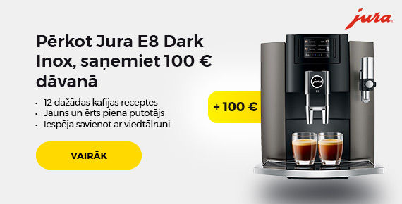Jura dark inox plus 100 eur