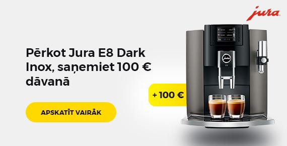 Jura dark inox plus 100 eur
