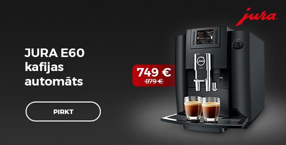Jura E60 kafijas automāts 749 €