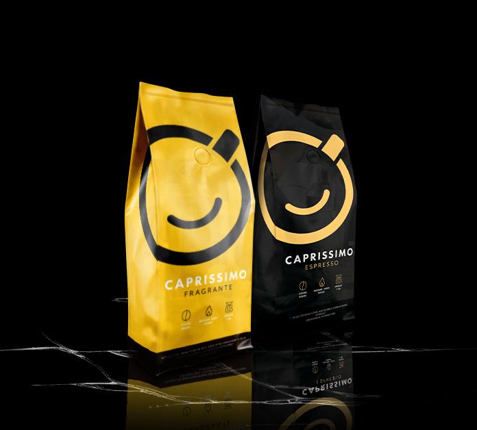 Caprissimo kafijas pupiņas 1+1