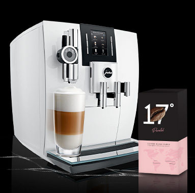 JURA J6 White tikai 1549 € + Parallel kafija dāvanā