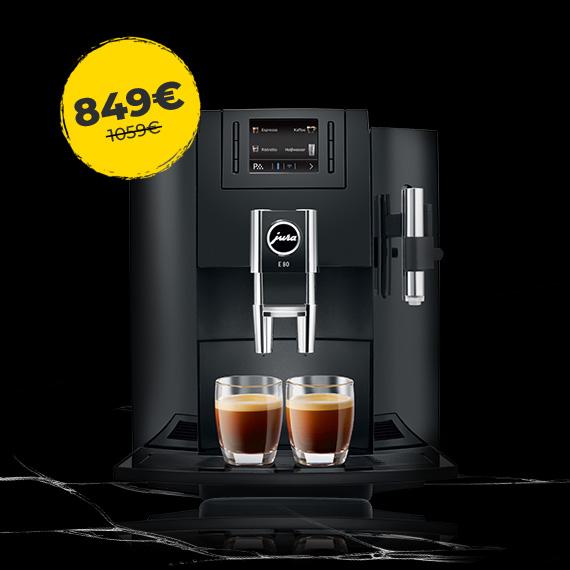 JURA E80 par īpašu cenu 849 €