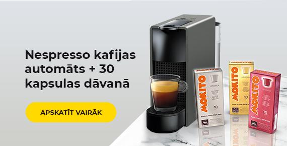 Nespresso+30 kapsulas dāvanā