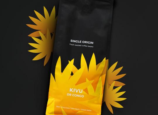 """DR Congo Kivu"", 1 kg Single origin kohvioad ""DR Congo Kivu"", 1 kg"
