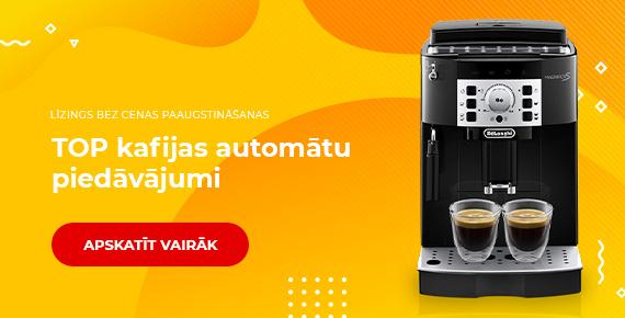 TOP kafijas automātu piedāvājumi