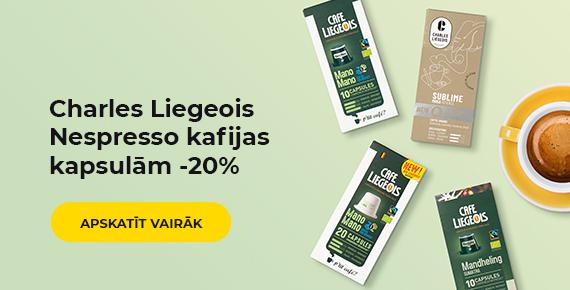 Charles Liegeois Nespresso kafijas kapsulām -20%