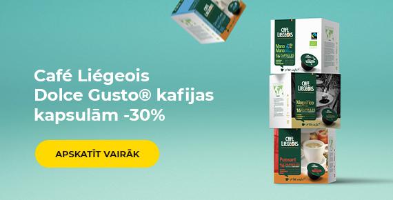 Café Liégeois Dolce Gusto® kafijas kapsulām -30%
