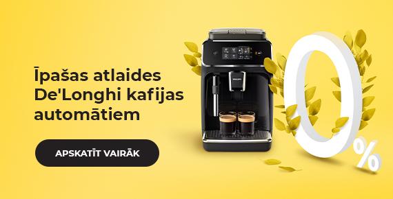 Kafijas automāti līzingā uz 10 mēn. bez cenas paaugstināšanas