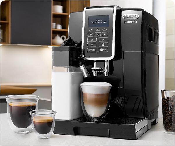 10 kafijas dzērieni ar vienu pieskārienu