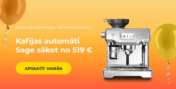 Kafijas automāti Sage sākot no 519 €