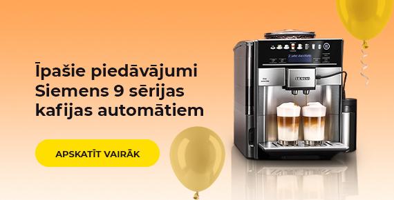Īpašie piedāvājumi Siemens 9 sērijas kafijas automātiem