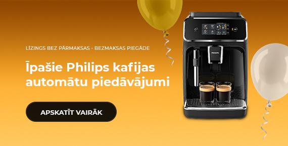 Īpašie Philips kafijas automātu piedāvājumi