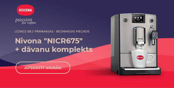 "Nivona ""NICR675""  + dāvanu komplekts"