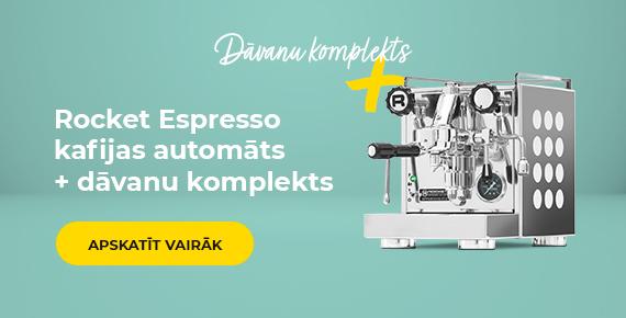 Rocket Espresso kafijas automāts + dāvanu komplekts