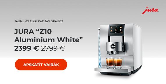 """JURA """"Z10 Aluminium White"""" 2399 € 2799 €"""