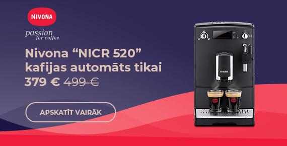 """Nivona """"NICR 520"""" kafijas automāts tikai 379 € 499 €"""