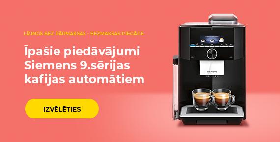 Īpašie piedāvājumi Siemens 9.sērijas kafijas automātiem