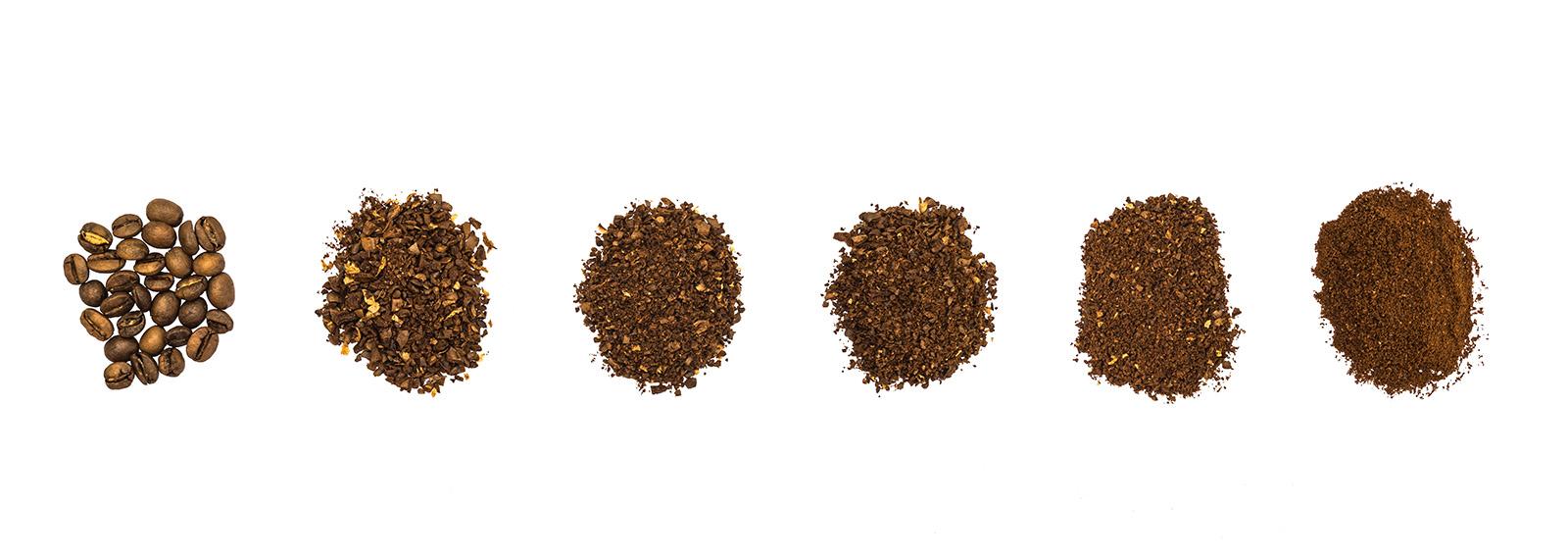 Kā sasmalcināt pupiņas, lai pagatavotu kafiju dažādos veidos?